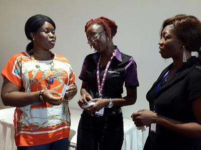 (L-r): Ify Isibor, chief executive officer, Elcees Kiddies Kingdom, Yeye Durojaiye-Arogundade, executive officer and Tayo Marinho, Relationship officer, both of Buyology.com.ng during the launch of the platform in Lagos on Thursday