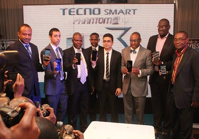 TECNO officials and guests during the launch of Phantom AIII smartphone
