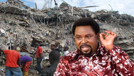 Prophet T. B. Joshua, founder and general overseer of the Synagogue Church of All Nations