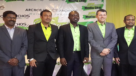Archoe team at the recent event in Nigeria