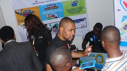 Felix Imafidon, Vericore Technologies' Chief Operating Officer at the WizitUp product launch.