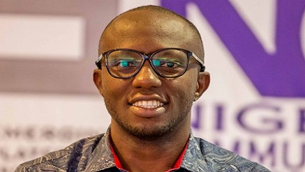 Chukwuemeka Fred Agbata, presenter of Tech Trends on Channels Television