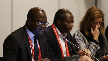 Participants at Africa Strategy Session at the ongoing ICANN Meeting in Denmark