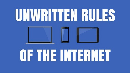 rules of the internet