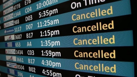 7 ways to deal with flight cancellations delays