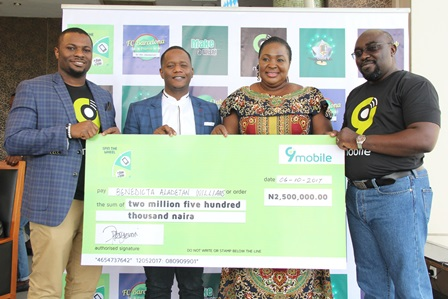 9mobile, Total Spin, Reward Customers with Digital Business Promo