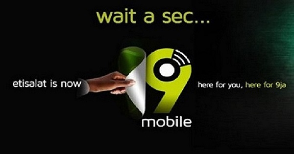 9Mobile formerly known as Etisalat