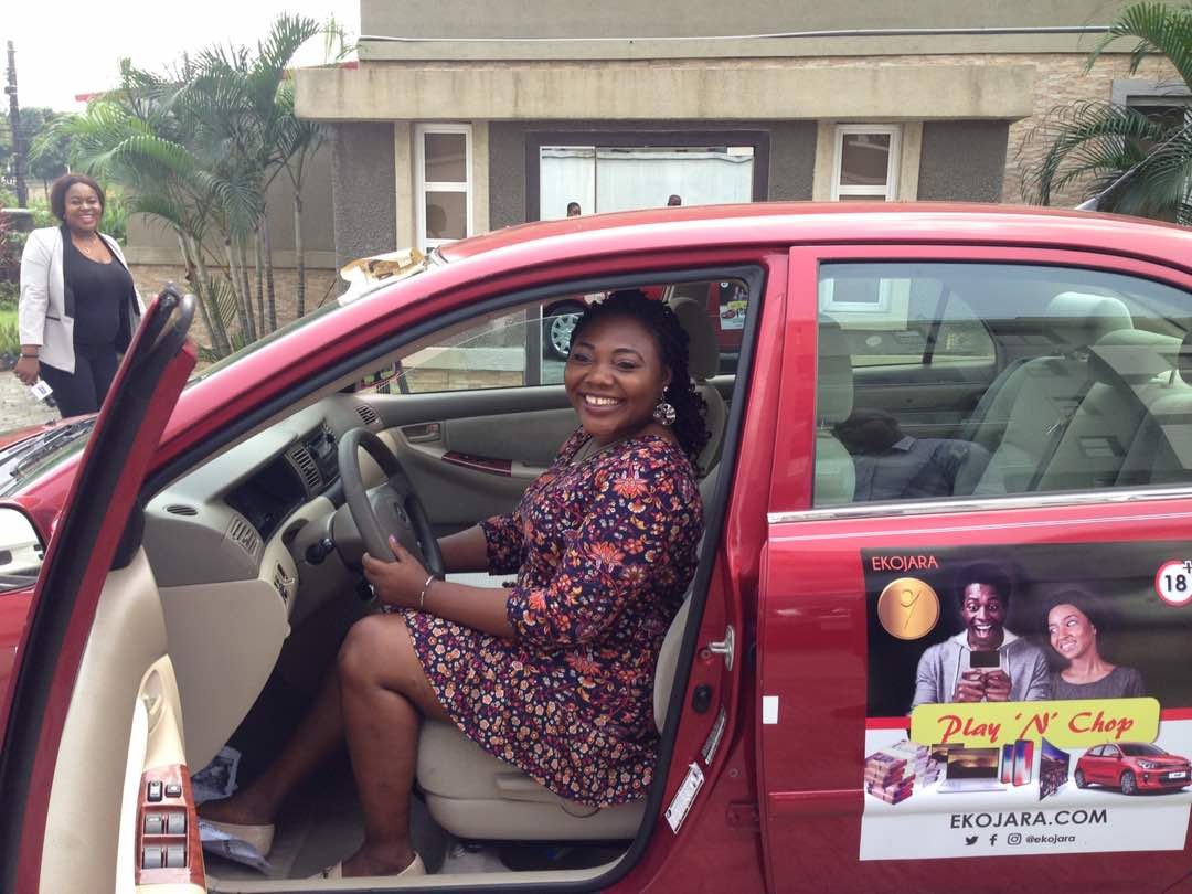 Online Raffle Draw Small Business Owner Wins Toyota Corolla On